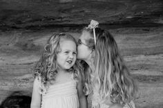 Little sisters at the beach #professionalfamilyphotos by gm photographics