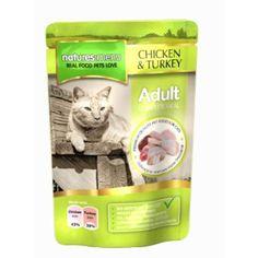 Natures Menu Chicken & Turkey Cat Pouches 12 x 100g