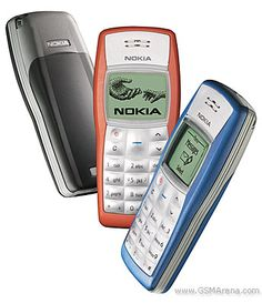 nokia 1100 - In 2015 the battery still holds a week!!