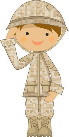 Boy In Army Uniform Clip Art - Boy In Army Uniform Image ...