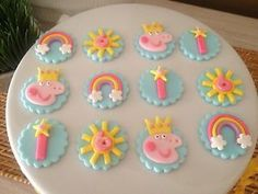 Peppa PIG Fairy Edible Cupcake Toppers SET OF 12 | eBay