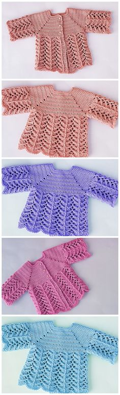 Crochet Baby Pullover - Crochet Ideas - Crochet Baby Pullover Best Picture For college outfits For Your Taste You are looking for somethi - Crochet Bebe, Knit Crochet, Crochet Cardigan, Easy Crochet, Crochet Dress Outfits, Knitting Patterns, Crochet Patterns, Crochet Ideas, Pull Bebe