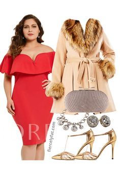 Auld Lang Syne: A Plus Size New Year's Outfit Inspiration New Years Eve Dresses, New Years Outfit, Plus Size Cocktail Dresses, Long Cocktail Dress, Curvy Fashion, Plus Size Fashion, Plus Size Boho Clothing, Nye Dress, Sheath Wedding Gown