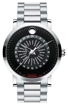 Movado 'Red Label' Automatic Bracelet Watch, 42mm available at #Nordstrom