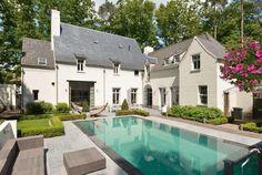Huis, zwembad