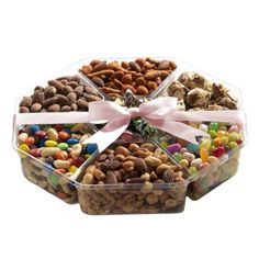 Assorted Nuts and Sweets Celebration Gift Basket 2 Pound