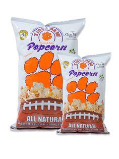 Clemson Tiger Paw Popcorn!