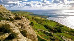 Dingli Cliffs on a December day Malta