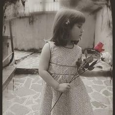 Kid vintage bridal dress floral Vestito Floreale di SewinItaly #italiasmartteam #etsy