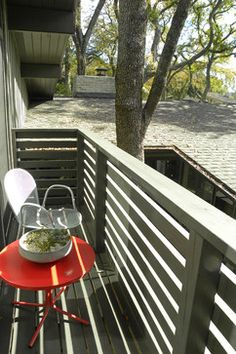 Deck Idea Porch Railing | Modern Home wood deck railing Design Ideas, Pictures, Remodel and ...