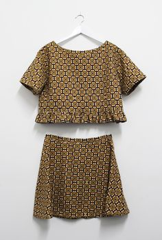 The Fabric Store | Textured Cotton Co-ord by Kama of our Auckland store.