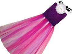 ▶ How To Make An Easy Custom Crochet Tutu Dress - YouTube