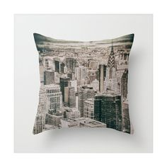 New York Throw Pillow cover Decorative throw pillow by JAYCPHOTOS, £18.00
