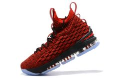 timeless design fc894 9acf2 Nike LeBron XV EP 15 Mens Basketball Shoes Varsity Red Black White,Cheap Nike  Lebron 15 , Newest Nike Lebron 15 , Discount Nike Lebron 15 , Authentic Nike  ...