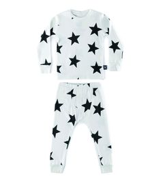 star loungewear in white World Of Fashion, Kids Fashion, Fashion Outfits, Baby Online, Outfit Sets, Lounge Wear, Baby Kids, Shop Now, Kids Outfits