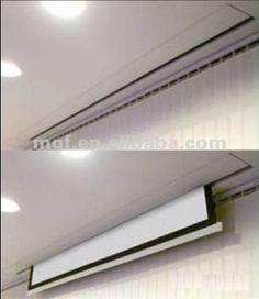 hidden projector screen ceiling Google Search