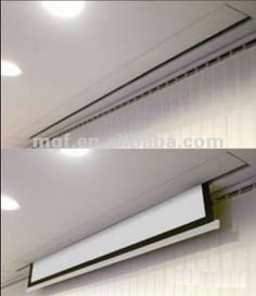 hidden projector screen ceiling - Google Search
