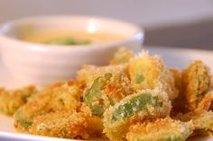 Crunchy Jalepeno Bites...made w/ fresh jalepenos, Panko breadcrumbs! thanks..Life's Ambrosia.