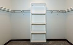 Walk in Closet by Designer Homes