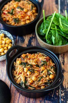 Vegetarian Recepies, Veggie Recipes, Pasta Recipes, Chicken Recipes, Healthy Recipes, Healthy Food, Health Dinner, Batch Cooking, Savoury Dishes