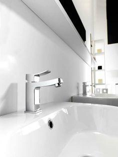 Porcelanosa park acero master bath wall tile bathroom for Porcelanosa faucets