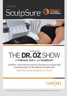 SculpSure™ Featured on Dr. Oz | McLean SculpSure Treatment