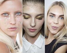 Spring/ Summer 2015 Makeup Trends: Metallic and Glittery Makeup  #makeup #makeuptrends #beauty