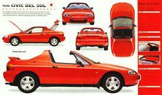 Honda Ballade Del Sol