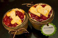 Mason Jar Wedding   Mason jar pies via Green Wedding Shoes