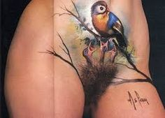 Billedresultat for pelvic tattoo women