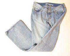 Bullhead Denim Flare Leg Jeans SIZE 0 GENTLY LOVED  $20