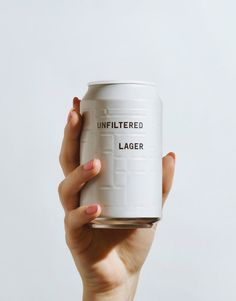 AND UNION Packages Beer With Minimalist Cans | Pinterest: Natalia Escaño