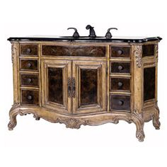Superior craftsmanship and intricate detailing make the Winslow Vanity the focal point of any Vintage preservation project!  View full details by clicking on the Pin.  $4,200.00