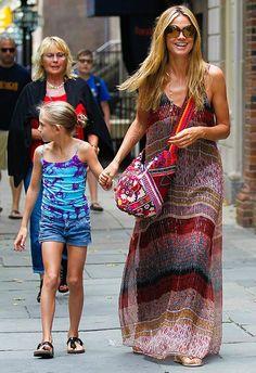 76f92df571 42 Best heidi klum images | Heidi Klum, Star fashion, Babies fashion