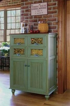 Love This Jelly Cabinet But Make Mine White Country Decor Pinterest Kitchens And