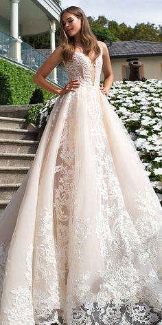 24 Milla Nova Wedding Dresses 2017 ❤ See more: http://www.weddingforward.com/milla-nova-wedding-dresses-2017/ #wedding #dresses
