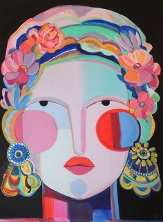 A Cubist Inspired Face Painting By Hayley Mitchell