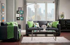 Sofa And Love Seat Set SM3050