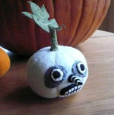 Spooky Ghost Pumpkin by Ludi
