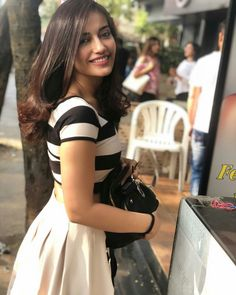 Bye bye you were amazing♥️ Western Dresses For Girl, Western Outfits Women, Indian Tv Actress, Indian Actresses, Actress Pics, Stylish Girls Photos, Girl Photos, Bollywood Fashion, Bollywood Actress