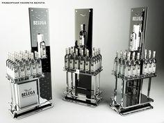 point of purchase Rak Display, Retail Display Shelves, Retail Displays, Display Stands, Pos Design, Stand Design, Display Design, Promotional Stands, Cosmetic Display