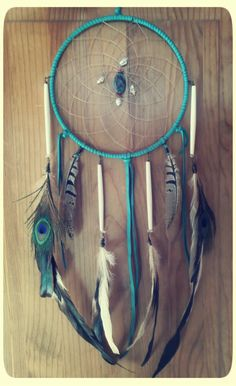 light dreams 8 inch protective dreamcatcher with by SpiritTribe, $73.00