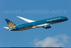 Vietnam Airlines VN-A863 Boeing 787-9 Dreamliner aircraft picture