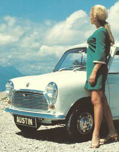 austin mini bmc leyland 60s