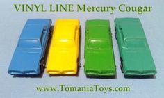 ** TOM'S TOY & RADIO WORLD TOMANIA **: VINYL-LINE GERMANY Pontiac Convertible, Porsche 911 Cabriolet, Police Radio, Mercedes 190, Oldsmobile Toronado, Big Tractors, Porsche Carrera, Line, Red And Blue