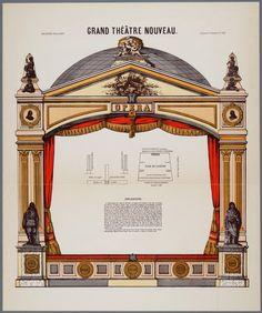 Grand Théâtre Nouveau, Imagerie Pellerin, 1880-1920