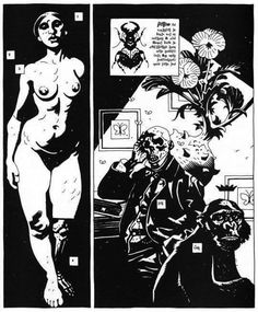 The Falconers reference - Minimalist macabre  www.thefalconers.wordpress.com  Mike Mignola