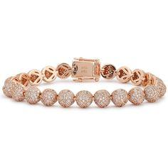 Womens Bracelets & Cuffs Eddie Borgo Medium Pavé Crystal Dome Bracelet ($370) ❤ liked on Polyvore featuring jewelry, bracelets, crystal cuff bracelet, bracelet bangle, eddie borgo jewelry, pave crystal jewelry and pave bracelet