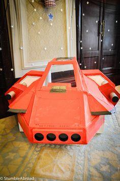 kids cardboard spaceship - Google Search