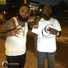 repost via @instarepost20 from @tonetrump Honorable real one right here @overtimegrind always unselfish he want for his brother what he want for hisself & he stood tall in combat wit me ... May Allah grant him good health & wealth Ameen ..  #OTG! #TONY! #letswin!#instarepost20